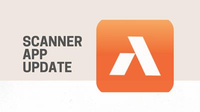 Scanner App Update