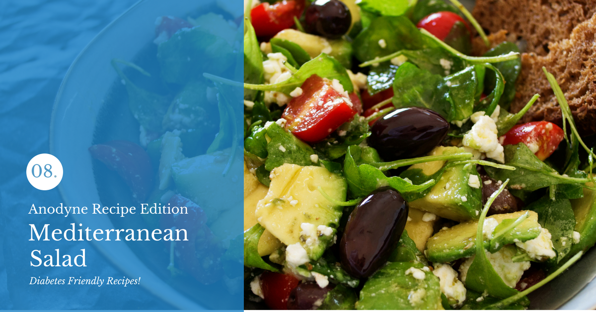 Anodyne's Mediterranean Salad