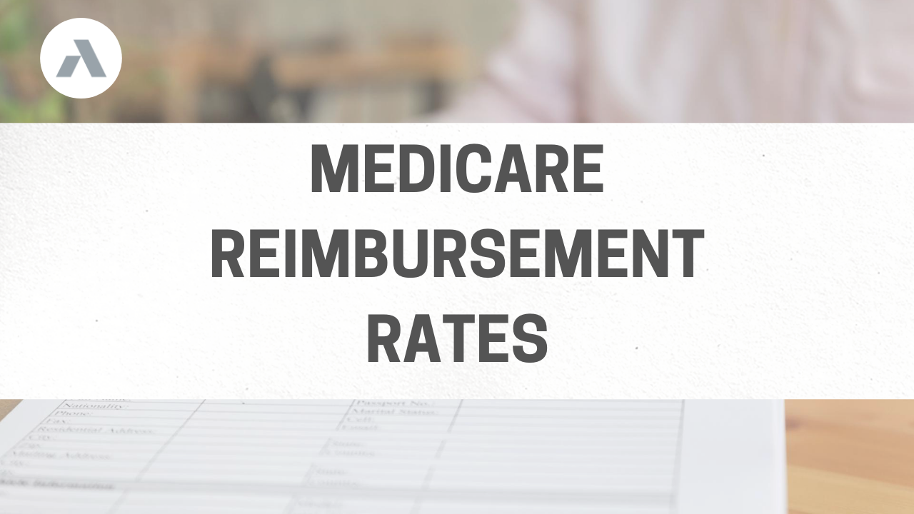 2020 Medicare Reimbursement Rates