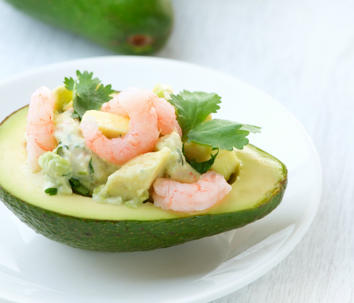 Diabetic Friendly Stuffed Avocados