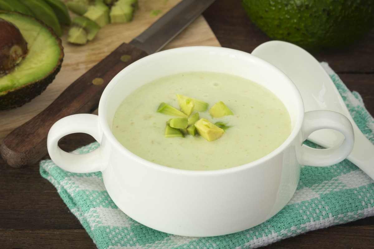 Cream of Avocado Soup for the Diabetic Diet