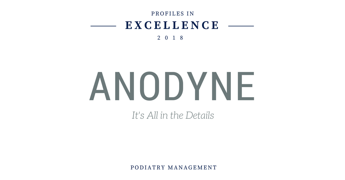 Podiatry Management: Profiles in Excellence 2018